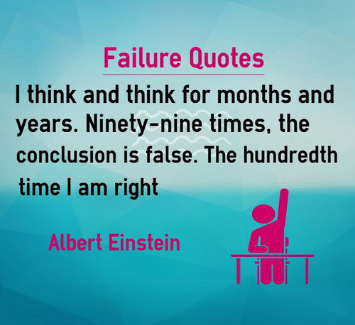 failure is the part of success