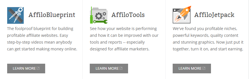 3 Main resources in Affilorama