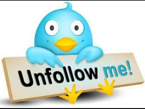 How to Unfollow People on Twitter Fast