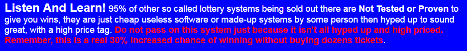 Lotto guy lottery system