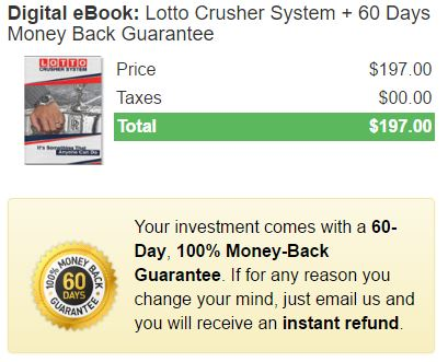 Is Lotto Crusher a Scam