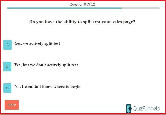 what is quiz funnels