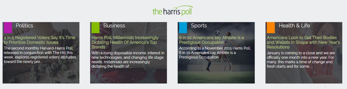 is harris poll online a scam
