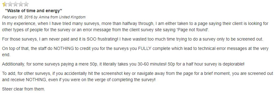 is survey network a scam