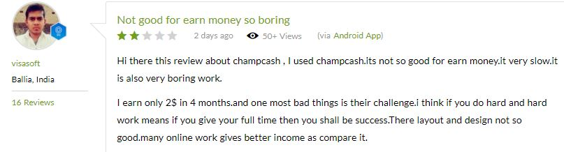 is champ cash a scam