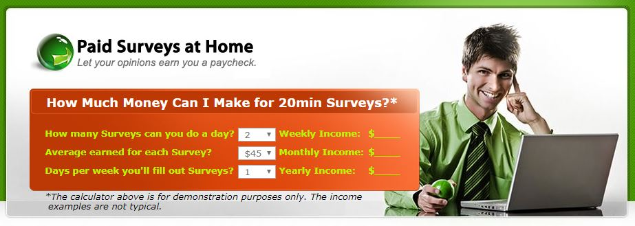 is paid surveys at home a scam