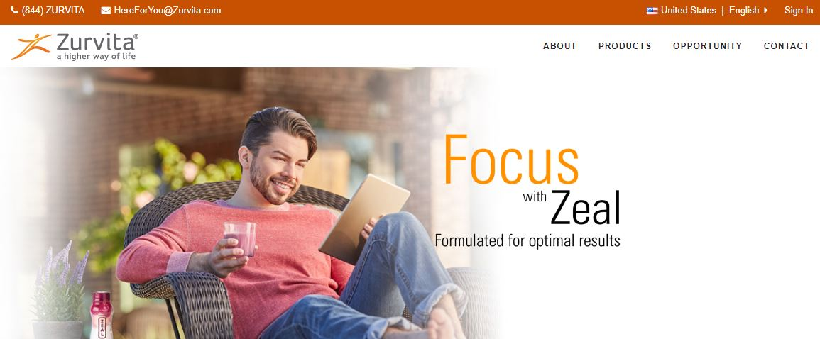 zurvita zeal for life reviews
