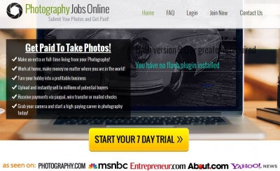 is photography jobs online a scam