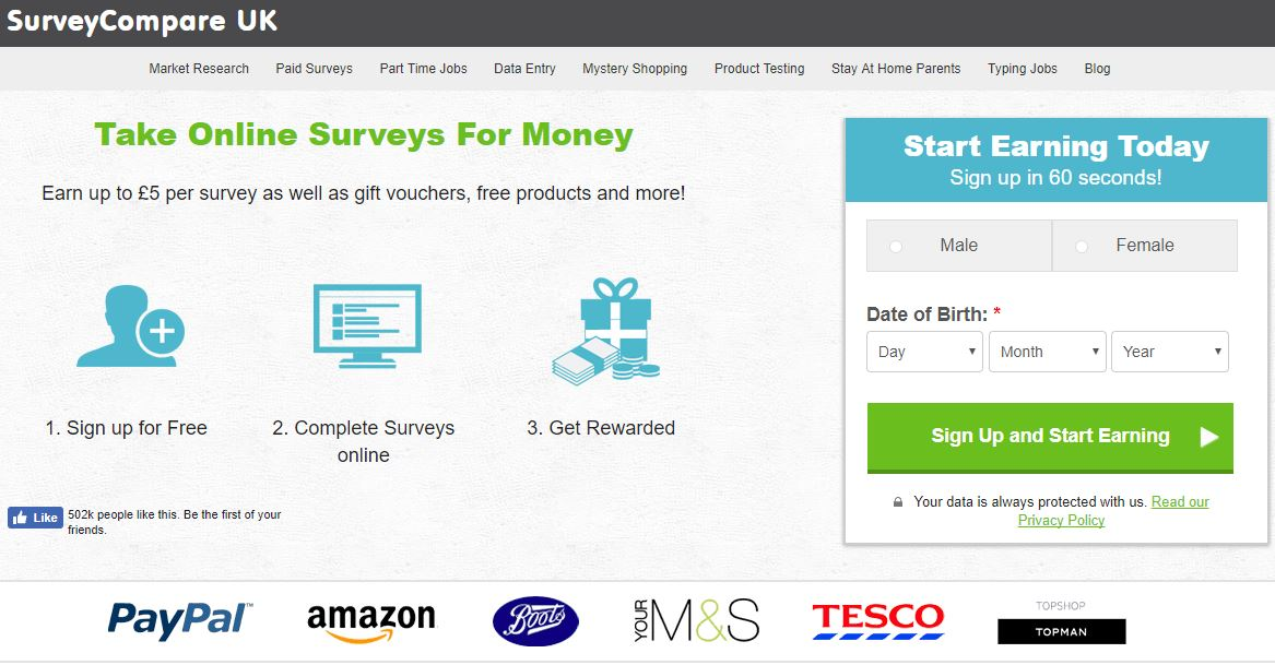 is survey compare a scam