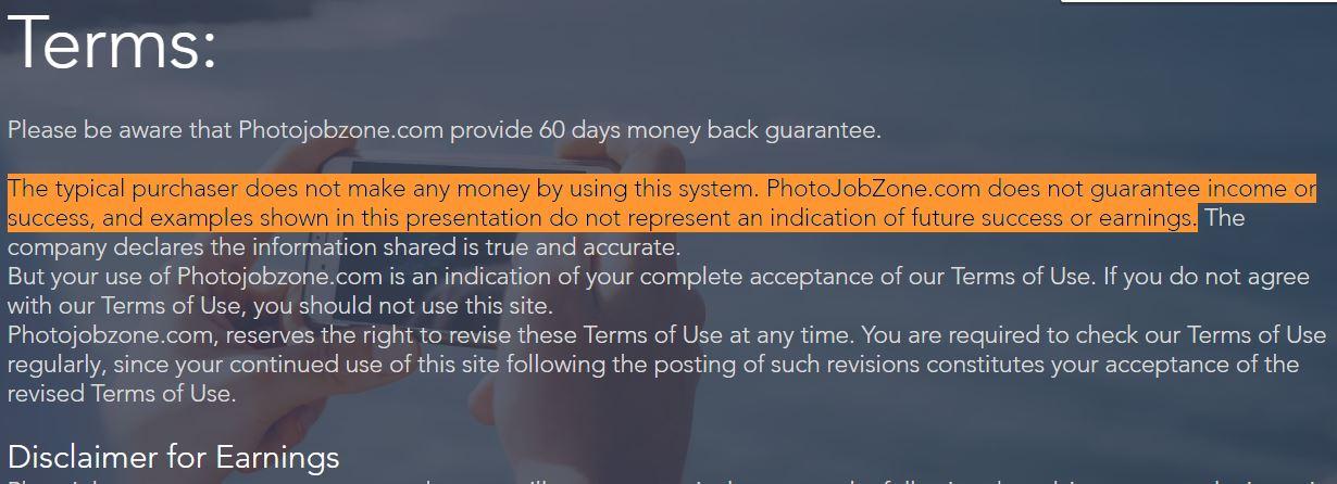 photo job zone reviews