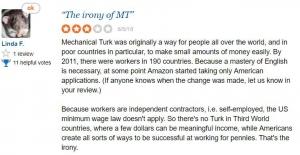 Amazon Mechanical Turk Complaints