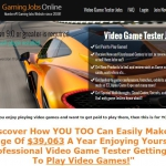 Gaming Jobs Online