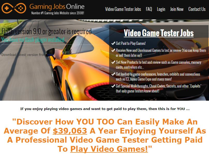 is gaming jobs online legit