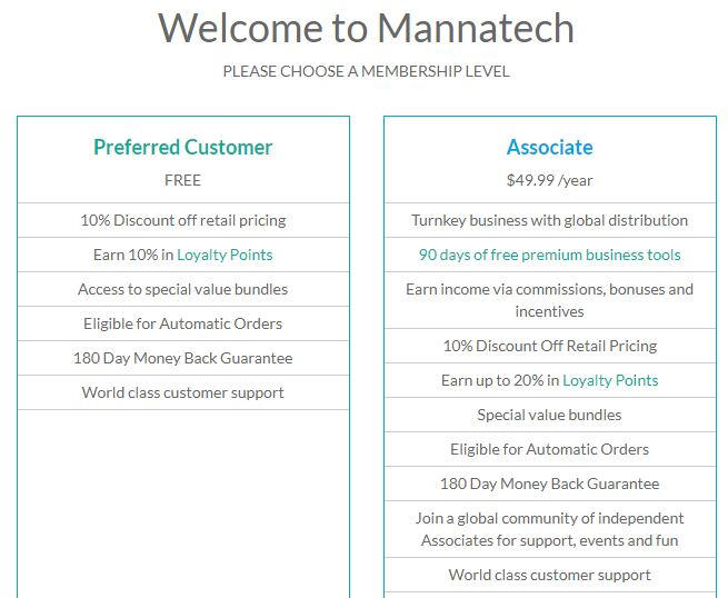 is mannatech a scam