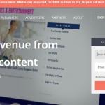 Media.net homepage
