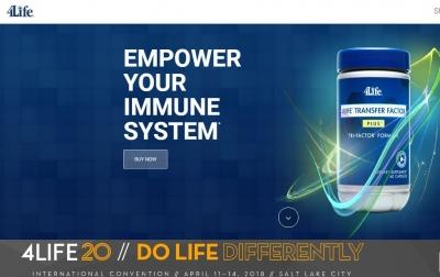 4life Homepage