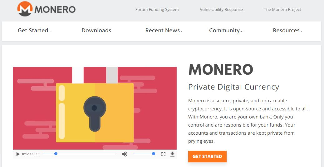 The official website of Monero