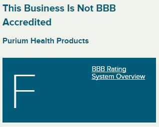 purium bbb reviews