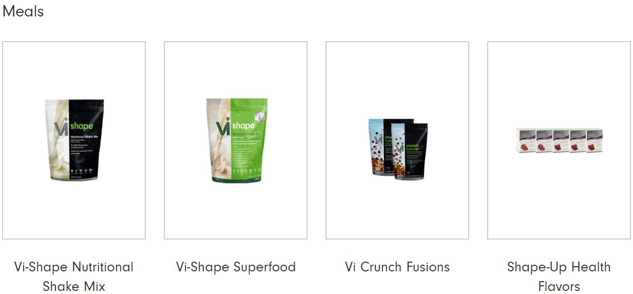 Visalus Meal Replacement Products