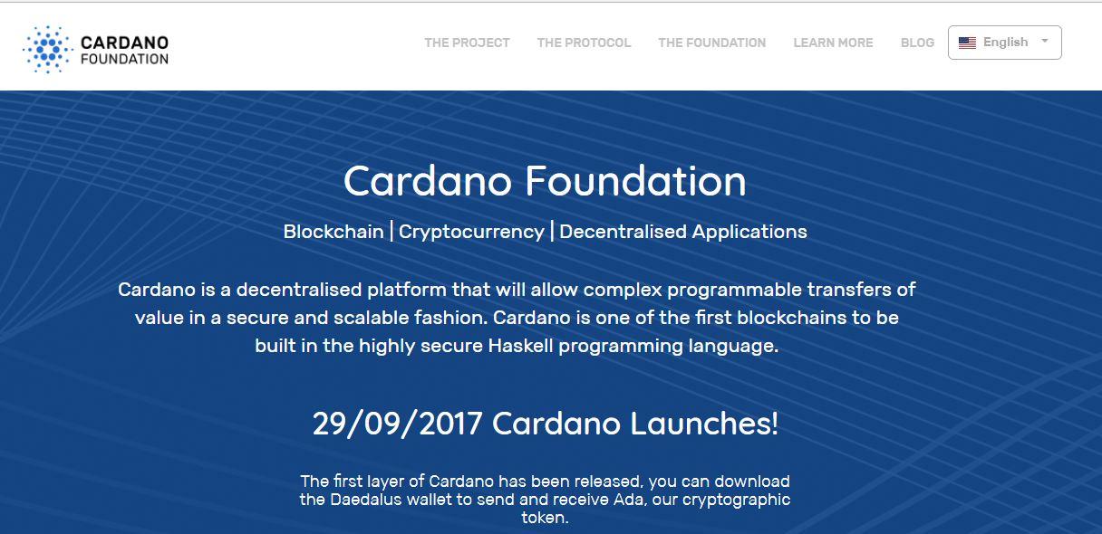 Cardano Homepage