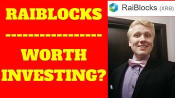 is raiblocks a good investment