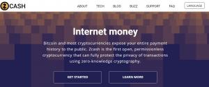 Zcash Homepage