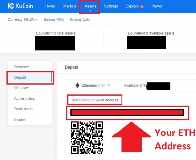 How to Buy coins on Kucoin