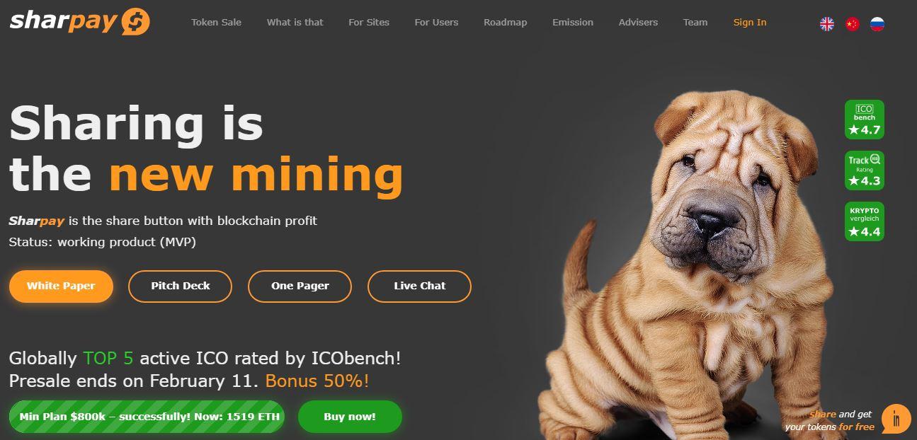 Sharpay Homepage