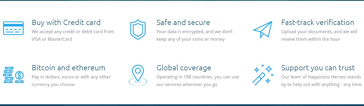 Benefits of coinmama