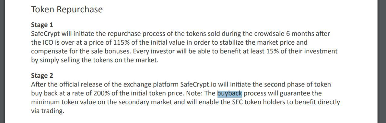 safecrypt buyback program