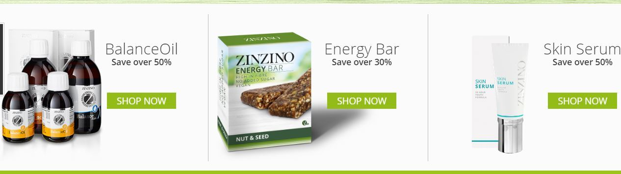 Zinzino product discounts