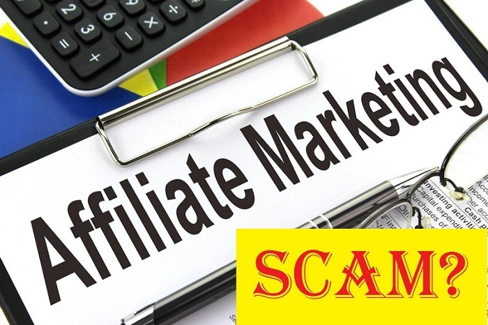 is affiliate marketing a scam