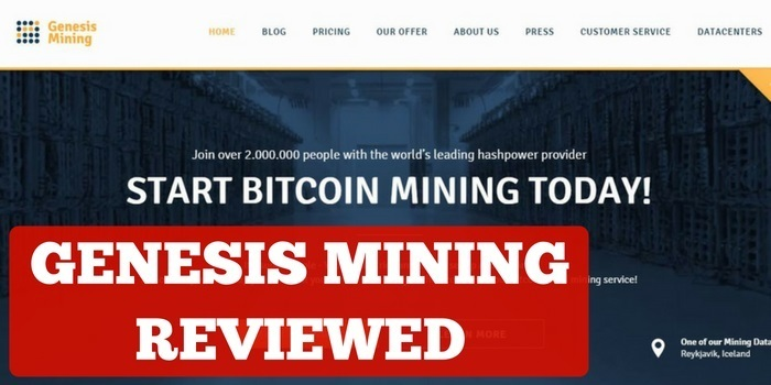 is genesis mining a scam