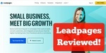 is leadpages free