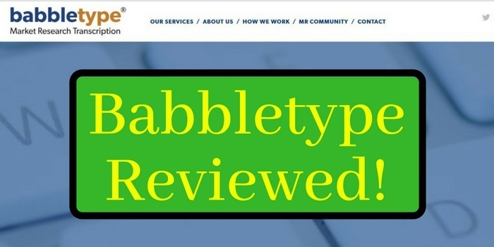 Babbletype review