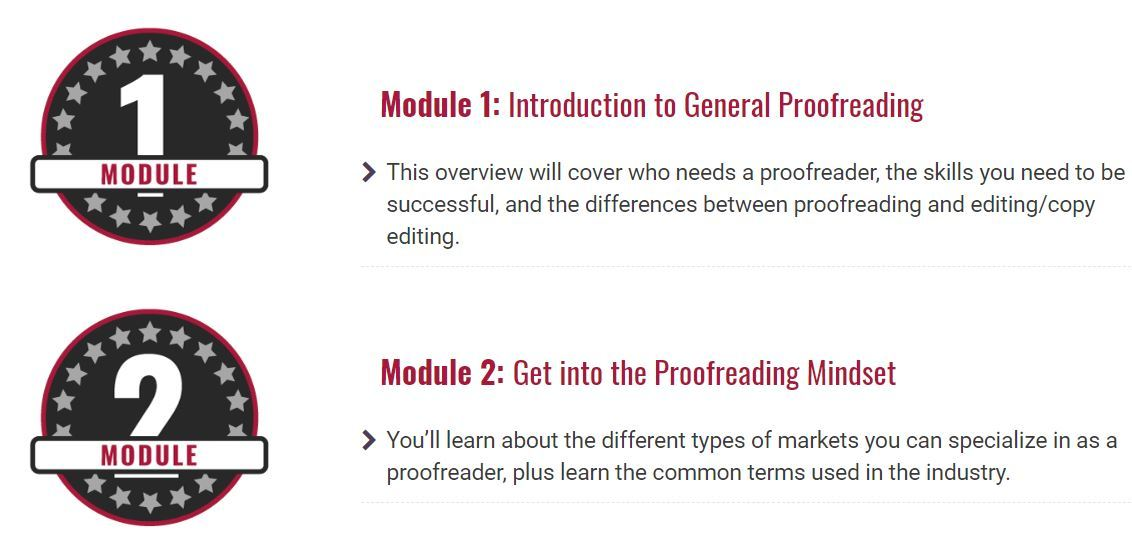 proofread anywhere course syllabus