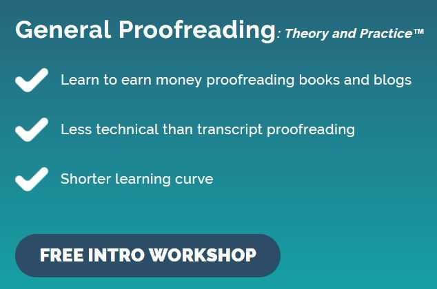 proofread anywhere courses