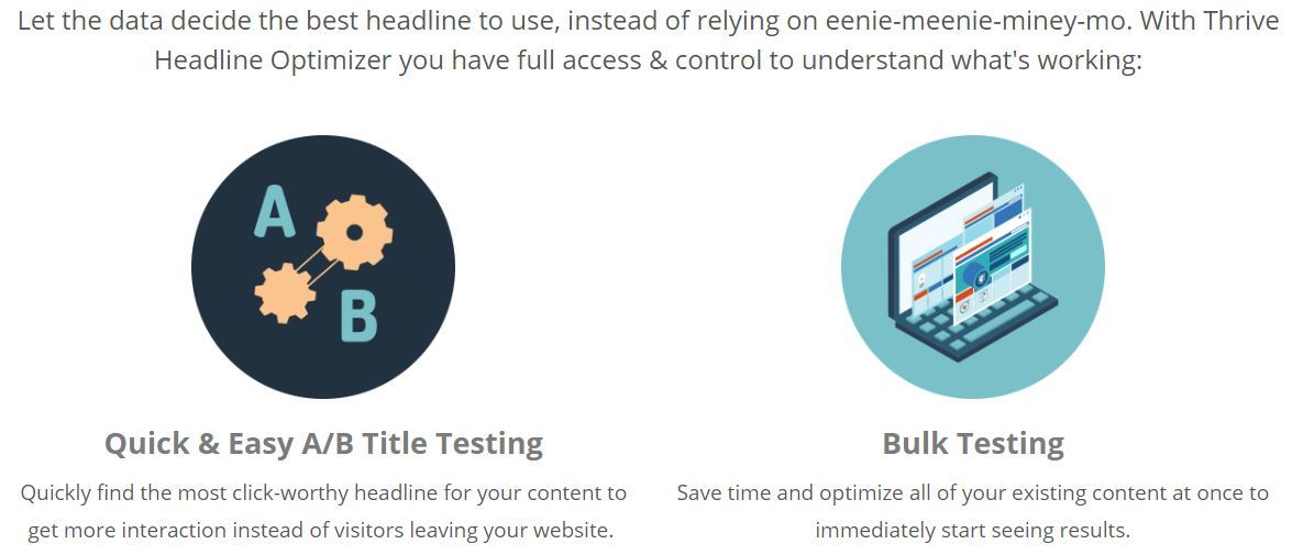 thrive headline optimizer features