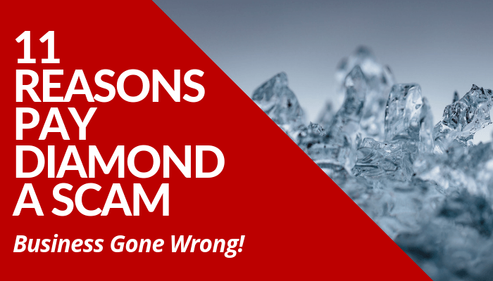Read my honest comprehensive review about why Pay Diamond a scam before you decide to invest and join their network marketing company. Learn more.