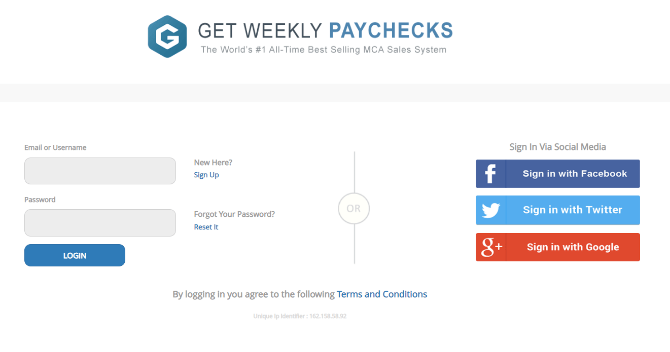 Is Get Weekly Paychecks A Scam Landing Page