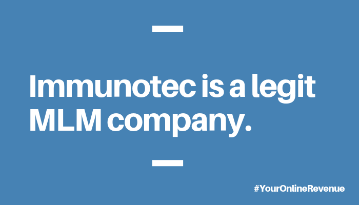 Is Immunotec A Scam Content Image 3 - Your Online Revenue