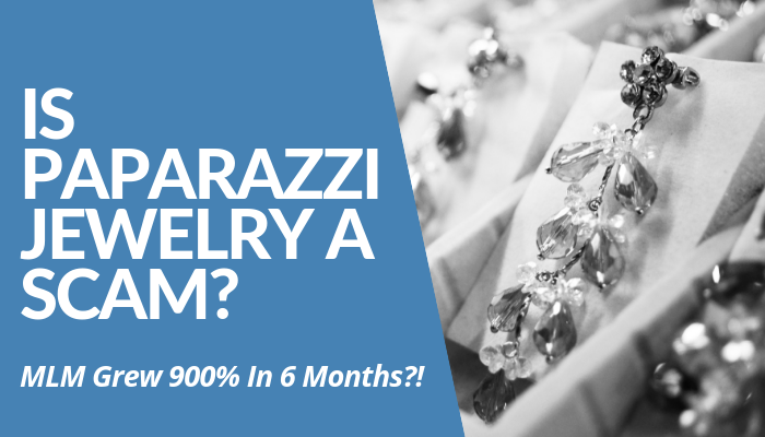 Is Paparazzi Jewelry A Scam Or Legit? Learn How This MLM Grew 900% In 6 Months. From Small Business Turn MLM. 45% Commissions From Cheap China-Made Jewelry? Read More Of My Brutally Honest, Comprehensive Review.