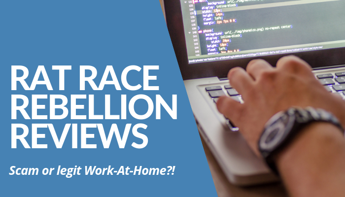 Many Rat Race Rebellion Reviews Mentioned It's A Great Jumpstart To Earn Income Online. But Is It Worth Your Time & Replace 9 To 5 For Work-At-Home With No ROI? Read More Of My Lengthy, Comprehensive But Brutally Honest Post About This Work-At-Home.