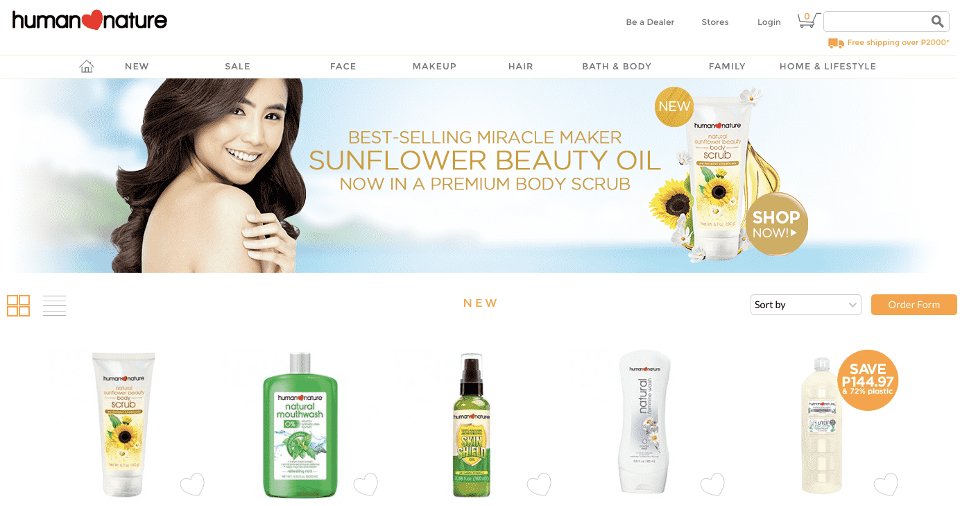Human Nature Products Review Landing Page-min