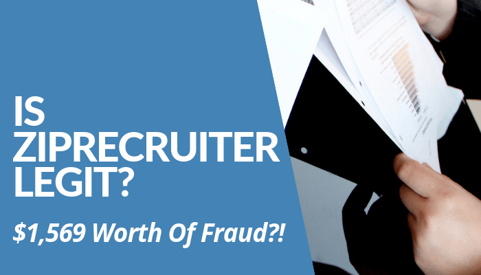 Is ZipRecruiter Legit? Employers Sought Help From FBI & Filed Complaint Against Company For Deceptive Recurring Charges. Shady Tactics Implemented. Read More.