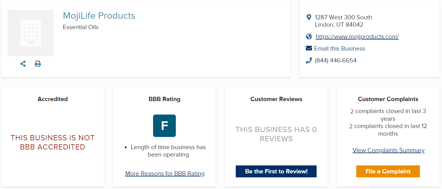 MojiLife Review BBB - Your Online Revenue