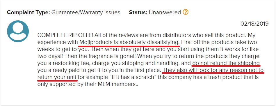 MojiLife Review Negative Review - Your Online Revenue