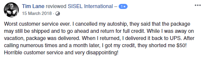 What Is Sisel International Negative Review - Your Online Revenue