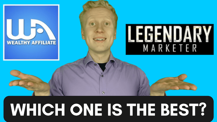 wealthy affiliate vs legendary marketer