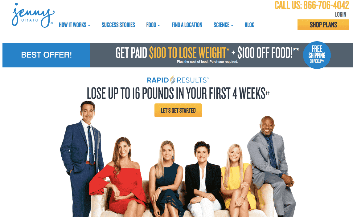 Does Jenny Craig Diet Work Landing Page-min
